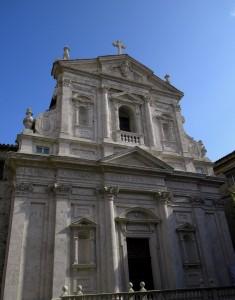 Facciata di San Filippo Neri